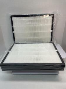 Isingo TT-AP007 True high-efficiency particules HEPA Filtre de remplacement pour TT-AP007 Purificateur d'air, 2-Pack