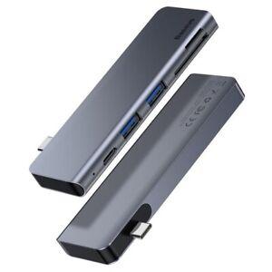 USB-C-3-0-5in1-Docking-Station-alu-micro-SD-Hub-Dock-60-W-pour-MacBook-2015