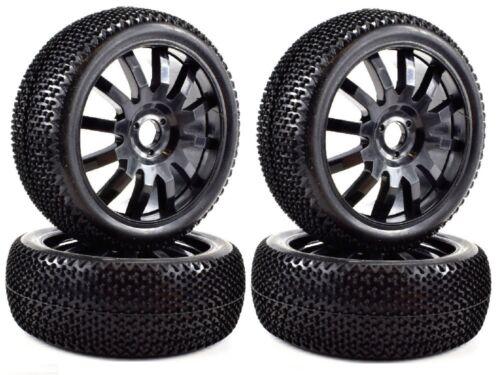 Apex RC Products 1//8 Off-Road Buggy Noir 12 jantes//NUB pneus #6036-2 Pack