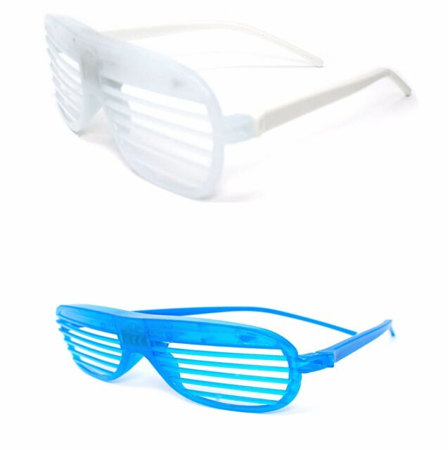 b219dab677 Frequently bought together. 1 Blue 1 White Flashing LED Shutter Glasses ...
