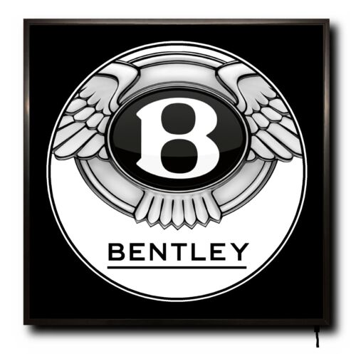 Bentley DEL 50 cm x 50 cm Wall Light Badge Logo Camion Cab MAN CAVE sign Remote