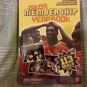 Arsenal-Membership-Yearbook-Book-2008-2009-Football-Soccer-Gunners