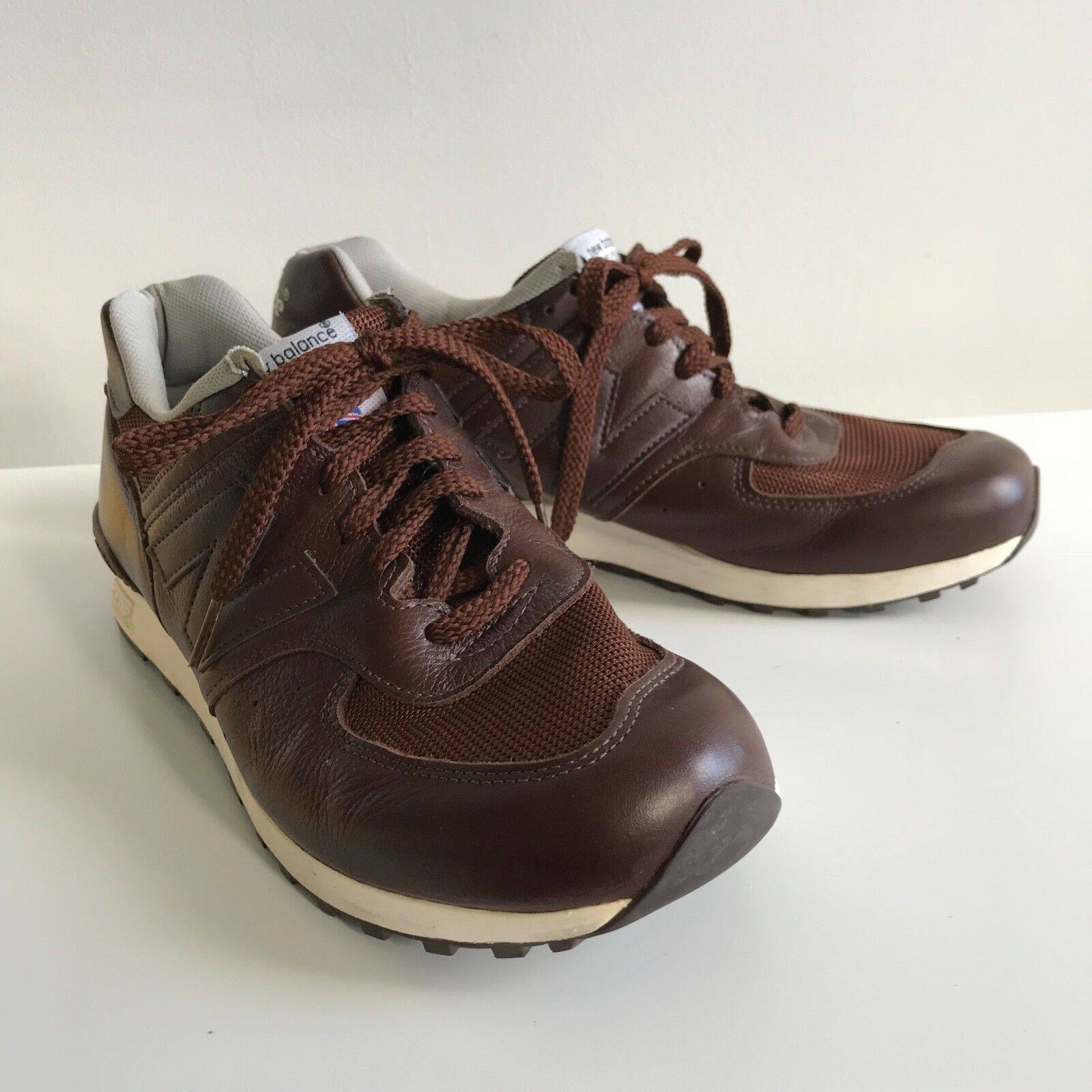 5eada01ce616d NEW BALANCE 576 Made in England Leather Uppers - Discreet Logo - SIZE US 9