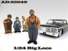 "BIG LOCO ""HOMIES"" FIGURE 1:24 SCALE DIECAST MODEL CARS BY AMERICAN DIORAMA 23949"