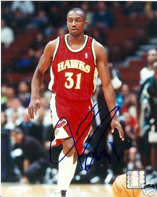 Basketball-nba Jason Terry Atlanta Hawks Signed 8x10 Photo W/coa