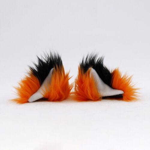 PAWSTAR Clip On In Fox Yip Ears Furry Cosplay Costume Nick Wild Zootopia 3226