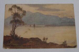 Postcard-Highlands-Loch-Linnhe-Raphael-Tuck-Oilette-No-7661-Posted-Postmark-1909