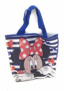 Sac-Shopping-Minnie-Minnie-Mouse-Disney-Sac-de-plage-Cabas-Bleu