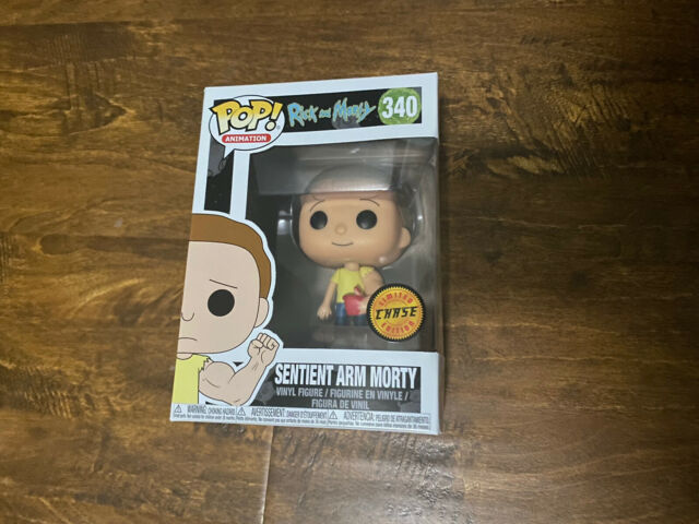 Funko Pop! Rick and Morty - Sentient Arm Morty #340 CHASE Limited Edition