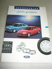 Ford Escort & Orion Accessories brochure c1990