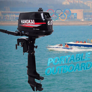 Details about HANGKAI 6 HP 2-Stroke Outboard Motor Boat Marine Engine Water  Cooling CDI System