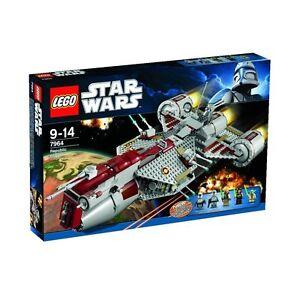 LEGO-STAR-WARS-7964-Republic-Frigate-Yoda-Eeth-Koth-Quinlan-Vos-Clone-Trooper