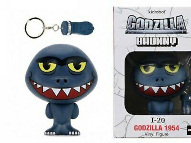 Loot Crate bhunny Godzilla 1954 Vinyl Figure I-20 Kidrobot nouveau