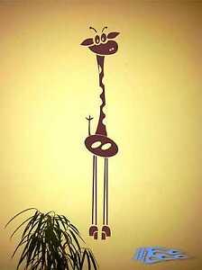 Wandtattoo-Giraffe-Kinderzimmer-Africa-Deco-Wandtatoo-Wandaufkleber