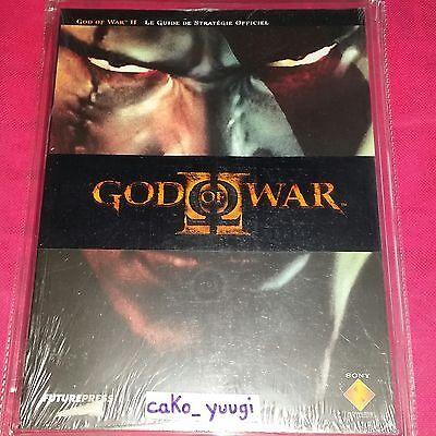 GUIDE OFFICIEL GOD OF WAR 2 FRANCAIS NEUF SOUS BLISTER RIGIDE FUTUR PRESS