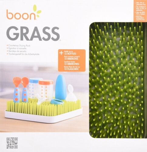 Boon Grass Countertop Drying Rack for Baby Bottle /& Accessories Free Shipping