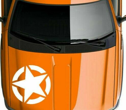 US USA American Army Military 5 Point Star Graphic Vinyl Decal Sticker V13