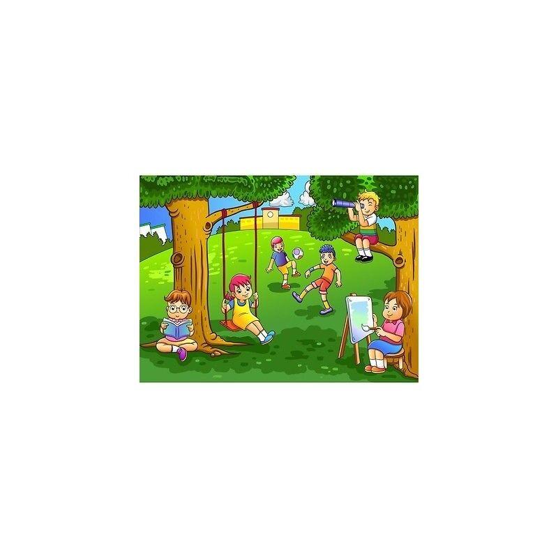 Carta Dipinto Bambino Gigante Bambini Parco 2013