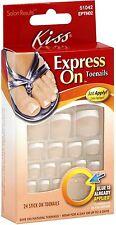 KISS Express On Toenails 24 ea (Pack of 9)