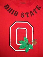 NCAA Ohio State Buckeyes College University Football Champs Red T Shirt S / M