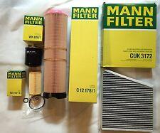 MANN Filter Set, Inspektionskit Mercedes Benz E-Klasse W211 S211 CDI