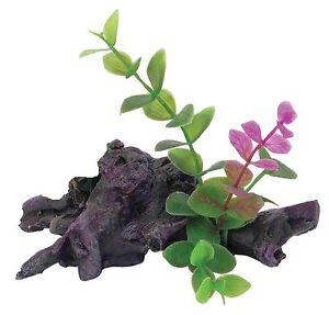 Mini-Bois-Flotte-amp-Plantes-Aquarium-Decoration-Reptile-Vivarium