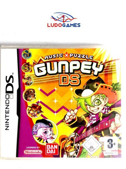 Gunpey DS Nintendo DS Pal / Eur Scellé Videojuego Neuf Nouveau Scellé Rétro
