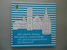 800 Jahre St. Nikolaus St.-Johannis-Spital Evangelische Kirche Bad Reichenhall