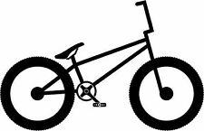 2 x BMX Cross Bike Biker Sticker Decal Aufkleber 10 cm breit