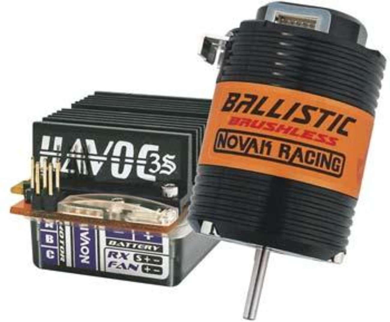 Motore Novak Havoc 3S Brushless ESC Ballistic 8,5 Sensorojo Brushless Motor