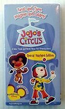 JoJo's Circus - Special Teacher's Edition ~ New VHS ~ Rare Disney Show Video