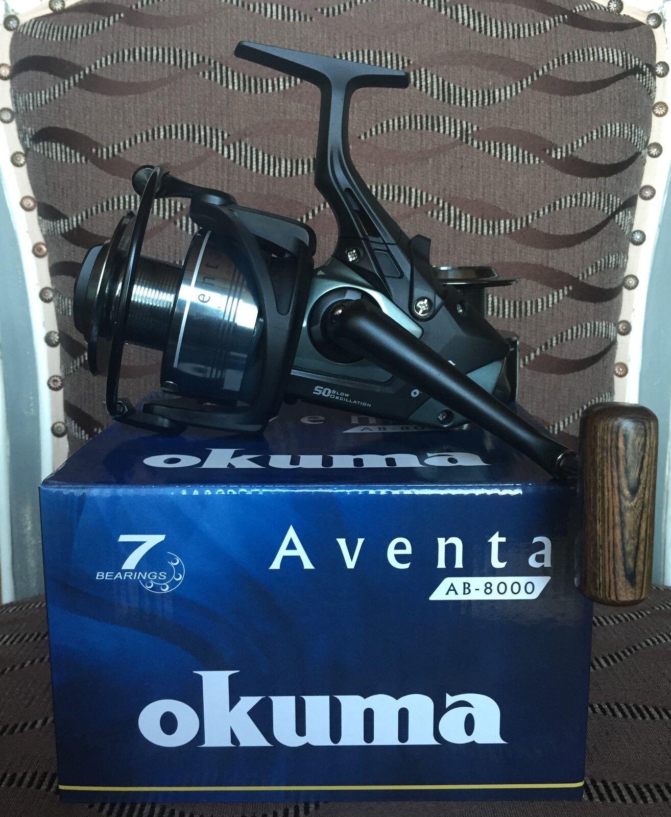 Okuma Aventa Baitfeeder AB-8000  Karpfenrolle  fast shipping to you
