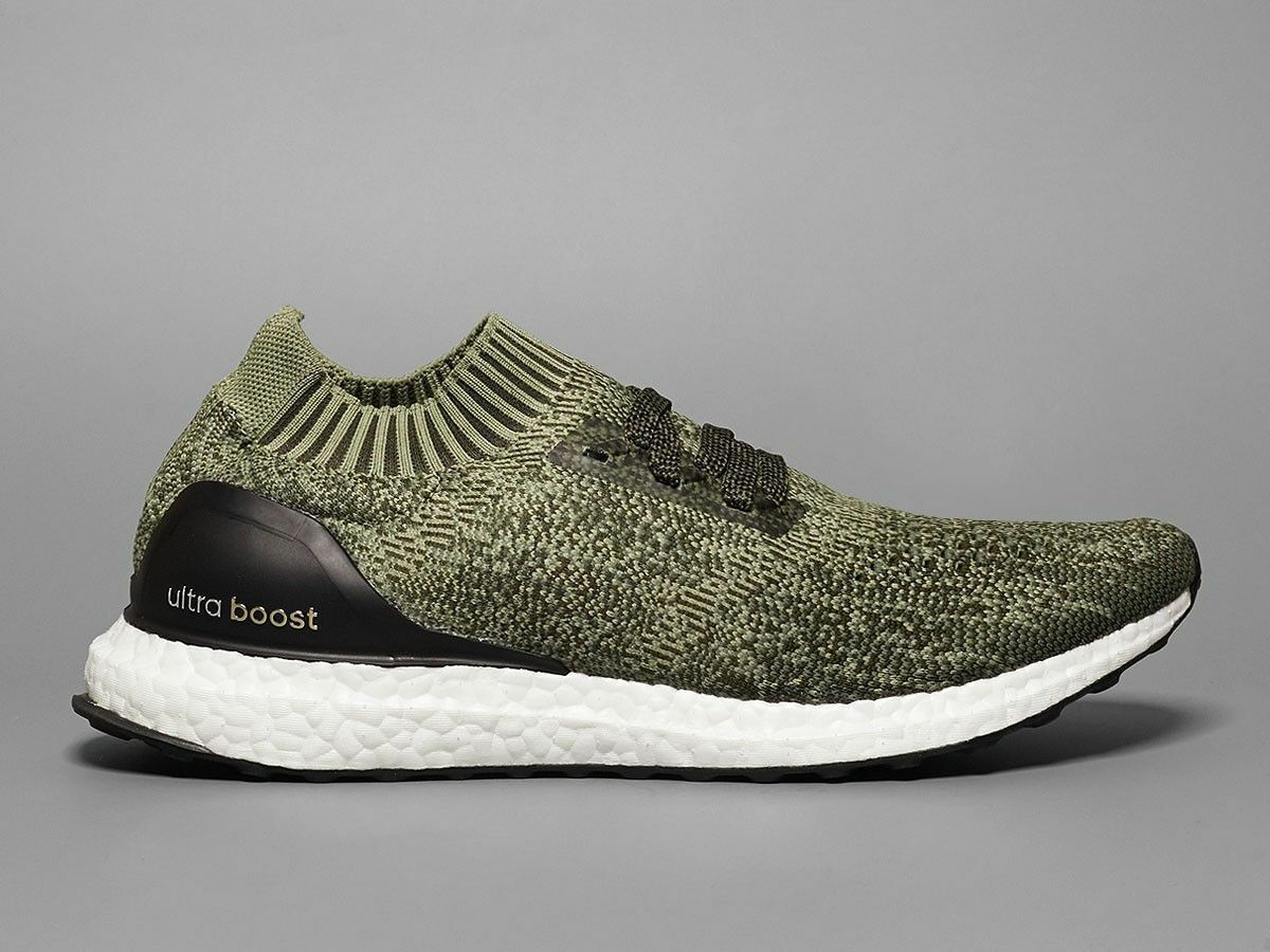 Adidas Ultra Boost Uncaged olive green Size 8. BB3901 nmd pk yeezy