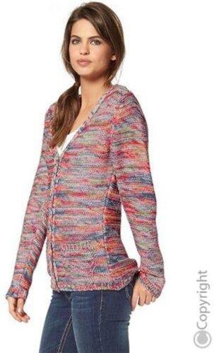 magnifico soft morbida giacca in maglia Cardigan-Tg 32//34 FLASHLIGHTS COLORATO NUOVO 449387