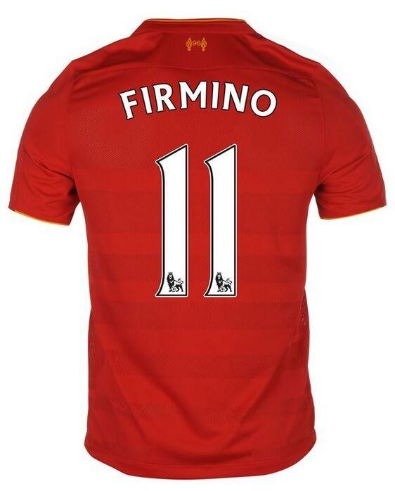 Trikot New Balance FC Liverpool 2016-2017 Home - Firmino  Klopp