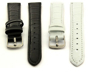 Two-piece-Glossy-Genuine-Leather-Watch-Strap-Band-Women-039-s-8-10-12-14-SPEC-WS-MM