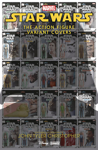 Star wars comic book action figures
