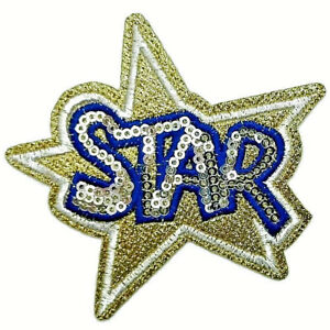 STAR-PATCH-IRON-ON-SEW-EMBROIDERED-APPLIQUE-SEQUIN-JACKET-BADGE-BADGES-GOLD