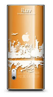 Iluv Icc306 Cityscapes Clrar Hard Case For Ipod 5th Gen Nano, Free Shipping