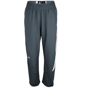 adidas Men's Climalite Team Speed Basketball Training Pants Grey Athletic Sweats