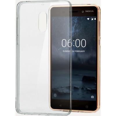 Nokia CC-101 Slim Crystal Cover für Nokia 6, transparent