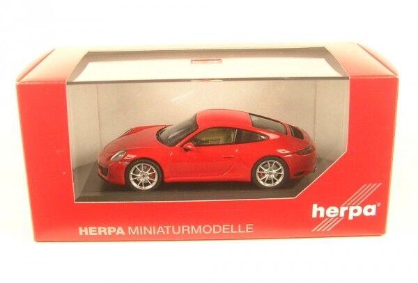 Porsche 911 (991 II) Carrera S Coupé (Rouge Indien)