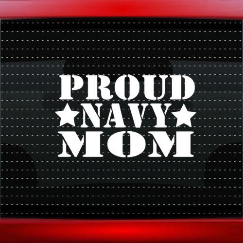 Proud Navy Mom #2 Car Decal Window Vinyl Sticker Military Sailor Seal 20 COLORS!