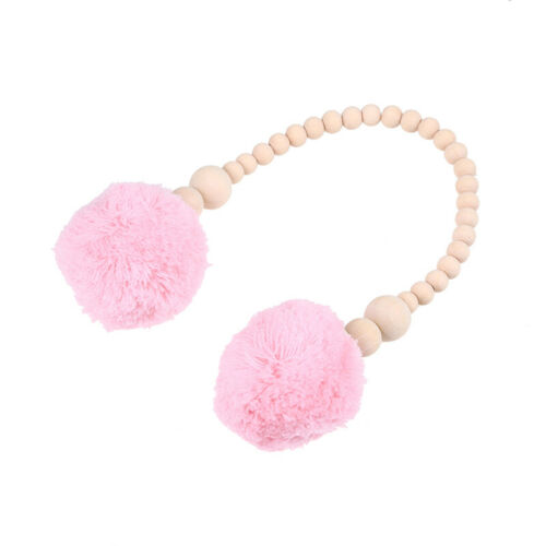 Nordic Wooden Beads Wall Hanging Ornament Pendant Kids Baby Nursery Room Decor