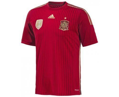 Adidas Uomo Maglia Maglia Maglia di calcio Spagna WM 2014 g85279 960227