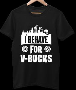V Bucks Funny Novelty Kids T shirt Fortnite Inspired Birthday Gift. FREE P&P