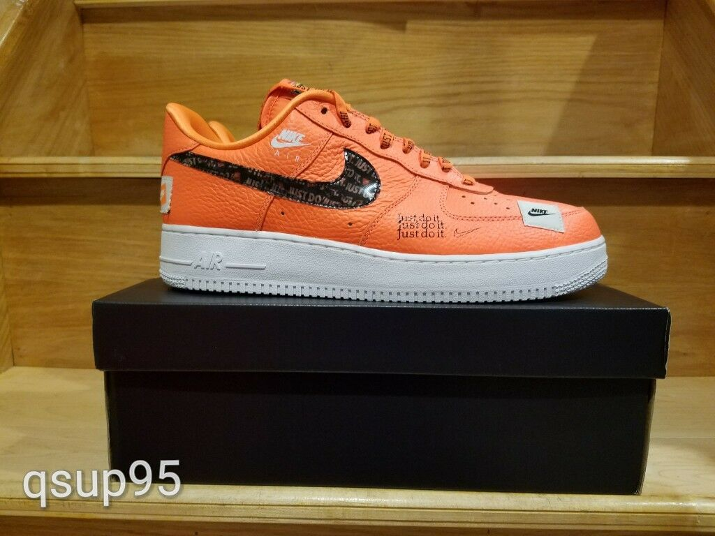 Nike Air Force 1 Low PRM Total Orange AR7719 800 Men Just Do it JDI Comfortable Special limited time