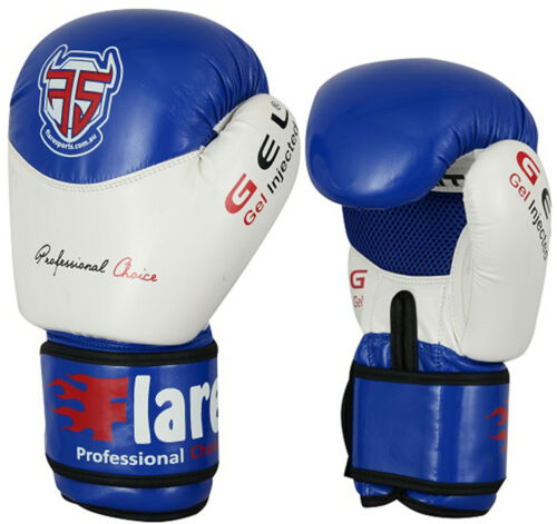 Flare Boxing Gloves KickBoxing Thai Sparring Punch Bag MMA Mitts Fight Training