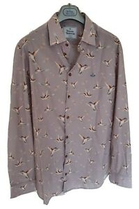 Mens-BNWOT-MAN-by-VIVIENNE-WESTWOOD-long-sleeve-shirt-size-VI-XL-RRP-325