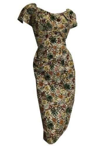 True Vintage 1950s Alix Of Miami Velvet Floral Wig